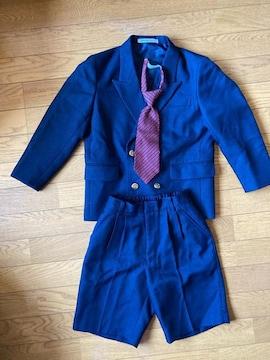 oliver house120cm紺スーツ3点セット
