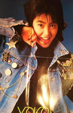 荻野目洋子&C-C-B両面ポスター【月刊明星1987年3月号付録】