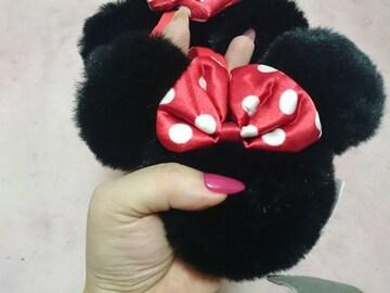 ディズニー購入ミニーマウスミニーちゃんイヤーマフ耳あて