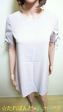 極美品☆DAISY BASIC☆袖編みピンST綺麗なワンピW64☆3点で即落