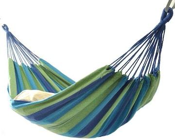 ハンモック2人用 ベッド部:長さ 約200×160cm/全長:約320cm