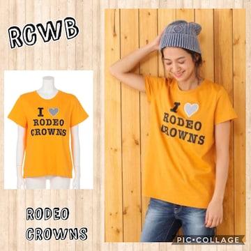 【送込】RODEO ロデオクラウンズワイドボウル RCWB★I LOVE RCS BIG Tシャツ