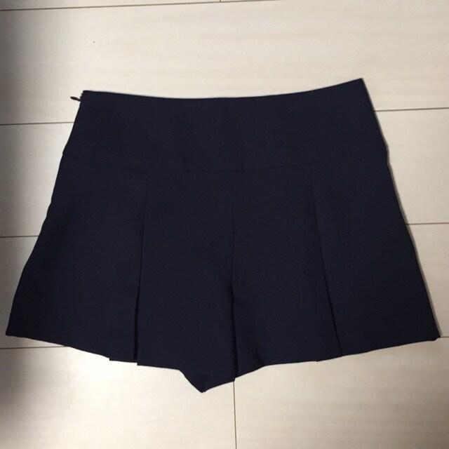 キュロットスカート☆青☆紺☆ショートパンツ☆ < 女性ファッションの