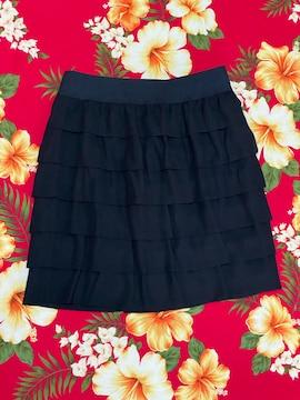 ef-de☆ブラックミニスカート☆サイズ7