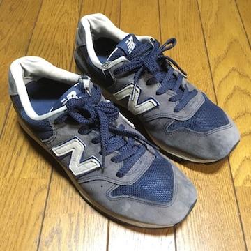 NBニューバランス レディース MRL996UG ブルー 24.5cm