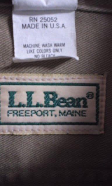 LL, BeanサファリジャケットXL < 男性ファッションの