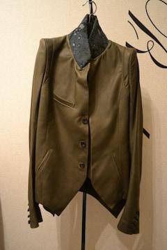 新品 ifsixwasnine レプタイルレザージャケット