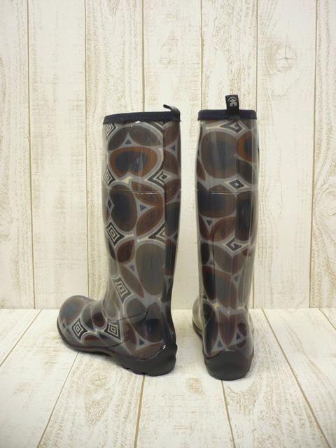 即決☆カミック TULIPE レインブーツ BLK/25cm カナダ製 長靴 < 女性ファッションの