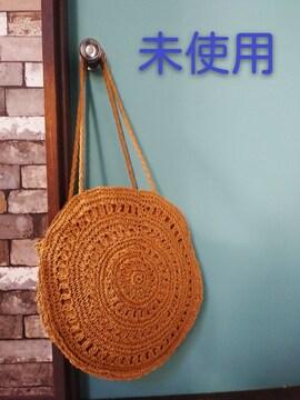 かごバッグ丸型