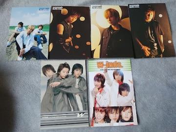 新品★w-inds.☆ポストカード6枚セット販売