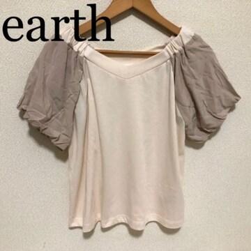 Tシャツ 異素材カットソー アースミュージック&エコロジー