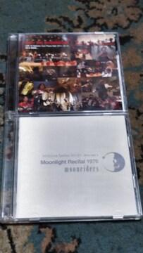 MOONLIDERS(ムーンライダーズ) 2枚組ライブCD2枚セット 難あり