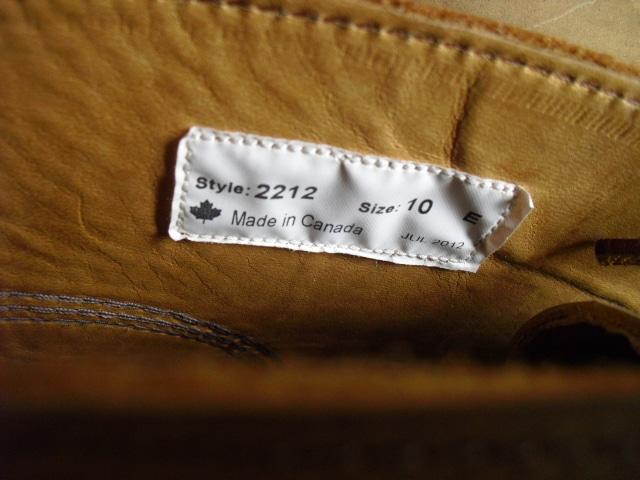 カナダ製 YUKETEN ユケテン ブーツ 28センチ 未使用 < 男性ファッションの