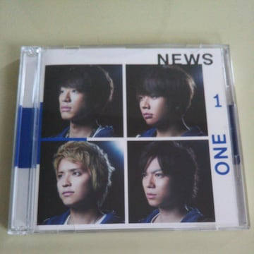 NEWS◇ONE-for the win- 初回盤 CD+DVD◇中古美品