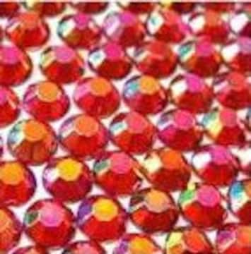 ● 4mm ● デコ用ストーン  2000粒 レッド