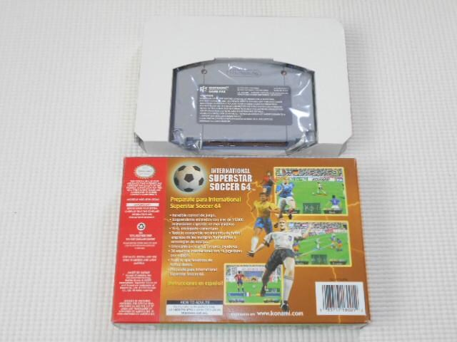 N64★INTERNATIONAL SUPERSTAR SOCCER 64 海外版 < ゲーム本体/ソフトの