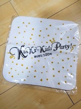 新品未使用 KinKi Kids20周年記念 タオルハンカチ