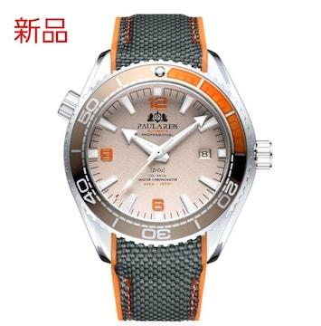 新品 機械式腕時計 自動巻き ダイバーズ