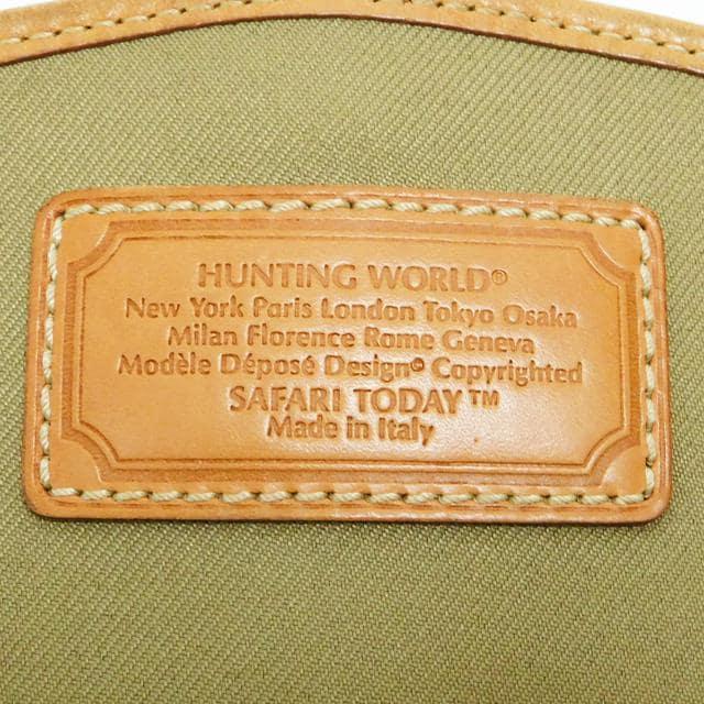 ハンティングワールド ショルダーバッグ カモフラ柄 良品 正規品 < ブランドの