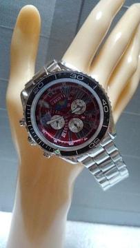 ユニセックス(本革)タイプ clubface腕時計 CF-1063RD 新品