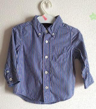 80★baby GAP★ストライプシャツ★水通し済み★新品