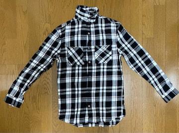 H&Mチェック柄シャツ