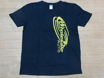 即決!USA古着●鮮やかロゴデザイン半袖Tシャツ黒!アメカジ