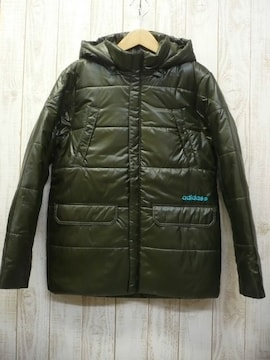 即決☆アディダス 特価 防寒 中綿 コート FG/XL 防寒 送料500円