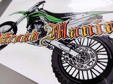 モトクロスバイク ステッカー■KX250F KX125 KMX KLX KDX 200R