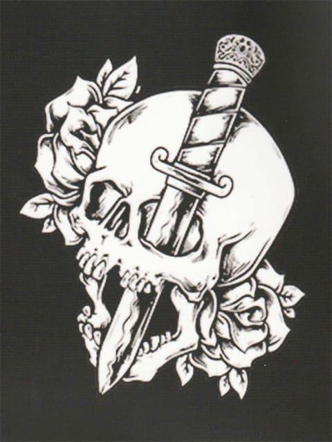 刺青 参考本 USA製 デザイン本 【 Tattoo COLORING BOOK 】 324 < 本/雑誌の