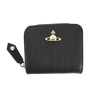 ★ヴィヴィアン BALMORAL 2つ折財布(BK)『51080020』★新品本物★