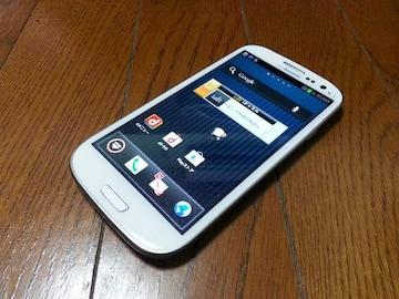 即落/即発!!超美品 SC-06D Galaxy S3 ホワイト