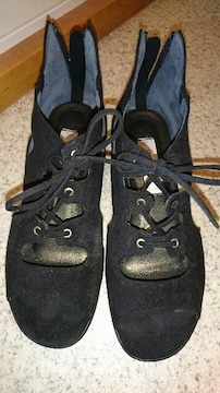 靴 24�p  ワイズ3E◆黒