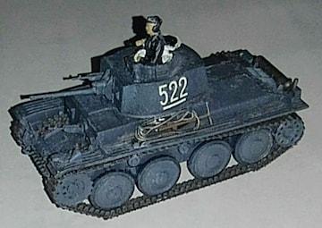 タミヤ1/48ドイツ38(t)軽戦車完成品