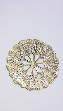 金属片大きい花57�o4個
