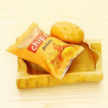 お菓子パッケージ風 多目的クラッチ ポテチ //agw