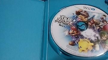スマブラ/大乱闘スマッシュブラザーズ for WiiU ディスクのみ