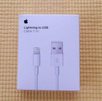 Apple 純正 iPhoneライトニングケーブル純正充電器