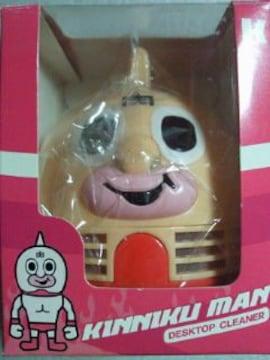 プロレス マンガ キン肉マン フェイス デスク トップ クリーナー 掃除機