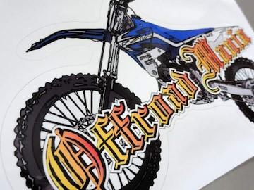 モトクロスバイク ステッカー■WR250R XTZ125 DT TT-R PW XT YZ