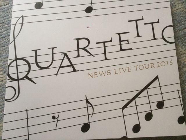 激安!超レア!☆NEWS/QUARTETTO TOUR2016☆初回盤BD4枚組☆超美品  < タレントグッズの