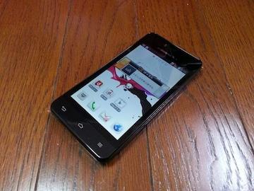 即落/即発!!新品未使用 L-05D Optimus it ブラック LTE Xi