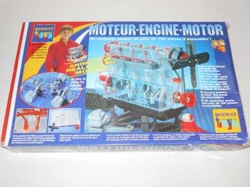 RENAULT toys★MOTEUR-ENGINE-MOTOR Joustra 欠品無し