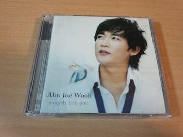 アン・ジェウクCD「Sounds like you」Ahn Jae Wook韓国K-POP●