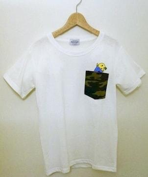 【ふなっしー】ポケット付きTシャツ(新品)