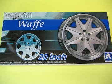 アオシマ 1/24 ザ・チューンドパーツ No.39 レオンハルト ヴァッフェ 20インチ 極タイヤ