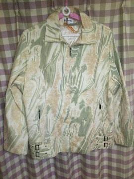 ★leomarina オシャレデザイン ジャケット サイズL位 同梱不可