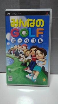PSP みんなのGOLF ポータブル