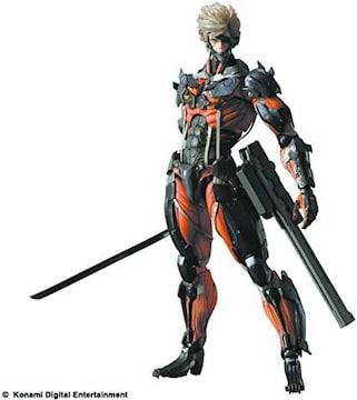[フィギュア]雷電(ライデン)レッドver./プレイアーツ/メタルギア