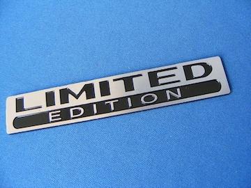 ● LIMITED EDITION アルミ製フレキション エンブレム 新品●
